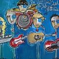 Matt Nasi Band At The Cherry Creek Arts Festival by Laurie Maves ART