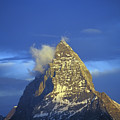 Matterhorn Mountain At Sunrise, Close Up by Axiom Photographic