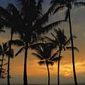 Mauna Loa Sunset - Big Island Hawaii by Daniel Hagerman