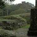 Mayan Ruins by Lori Mellen-Pagliaro