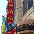 Mcdonalds Hamburger Restaurant . Fishermans Wharf . San Francisco California . 7d14249 by Wingsdomain Art and Photography