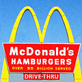 Mcdonalds Hamburgers . Over 99 Billion Served by Wingsdomain Art and Photography