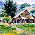 Mcghee Farm by Lynee Sapere