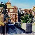 Mdina Gateway by Doranne Alden