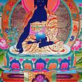 Medicine Buddha 11 by Jeelan Clark