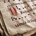 Medieval Choir Book by Carlos Caetano