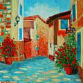 Mediterranean Street by Ana Maria Edulescu