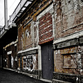 Melbourne Alley by Kelly Jade King