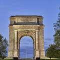 Memorial Arch Valley Forge by John Greim