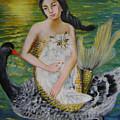 Mermaid And Swan by Lian Zhen