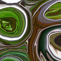 Metal Abstract by Linnea Tober
