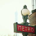 Metro Sing Paris by Gabriela D Costa
