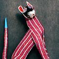 Mexican Folk Art Cat by Nancy Hoyt Belcher
