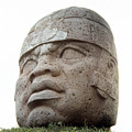 Mexico: Olmec Head by Granger
