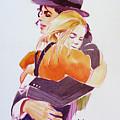 Michael Jackson - With Katie by Hitomi Osanai