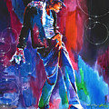 Michael Jackson Action by David Lloyd Glover