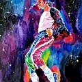 Michael Jackson Dance by David Lloyd Glover