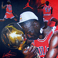 Michael Jordan by Luke Morrison