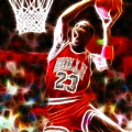 Michael Jordan Magical Dunk by Paul Van Scott