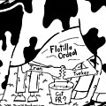 Milking The Flotilla For All Its Worth By Yonatan Frimer by Yonatan Frimer Maze Artist