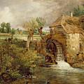 Mill At Gillingham - Dorset by John Constable