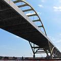 Milwaukee Under The Hoan Bridge by Anita Burgermeister