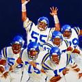 Minnesota Vikings Front Four  by Cliff Spohn
