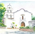 Mission San Diego by Mary Dunham Walters