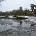 Mississippi River Ice Flow by Kent Lorentzen