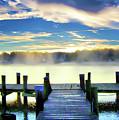 Misty Morning On Rock Creek by Brian Wallace