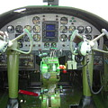 Mitchell B-25 Bomber Cockpit by Don Struke
