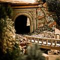 Model Train Tunnel 2 by Marilyn Hunt