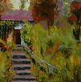 Monet's Garden Cottage by Colleen Murphy