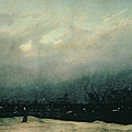 Monk By Sea by Caspar David Friedrich