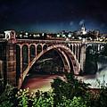 Monroe St. Bridge by Shirleen Mitchell
