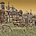 Montana Steam Punk - Nevada City Ghost Town by Daniel Hagerman