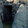 Monte Alban Danzantes Stone by Michael Peychich