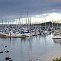 Monterey Harbor - California by Brendan Reals