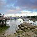 Monterey Harbor - Old Fishermans Wharf - California by Brendan Reals