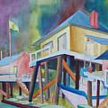 Monterey Wharf by Howard Luke Lucas