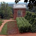 Monticello Vegetable Garden Pavilion by LeeAnn McLaneGoetz McLaneGoetzStudioLLCcom
