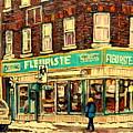 Montreal Cityscenes By Streetscene Artist Carole Spandau by Carole Spandau