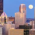 Moon Over Pittsburgh 2 by Emmanuel Panagiotakis