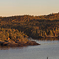 Moon Rise Over Pukaskwa by Doug Gibbons