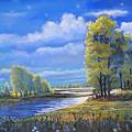 Moonlight On Clear Creek by Heather Coen