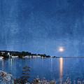 Moonlight On Mackinac Island Michigan by Jill Battaglia