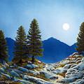 Moonlit Trail by Frank Wilson
