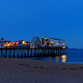 Moonrise In Old Orchard Beach by David Bishop