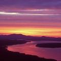 Mooselookmeguntic Lake Maine by John Burk