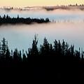 Morning Fog In Northern Saskatchewan by Mark Duffy